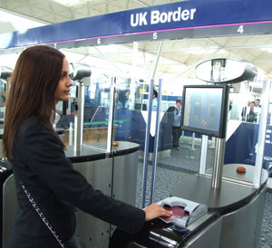 Uk S Stansted Airport Deploys Biometric E Passport Gates