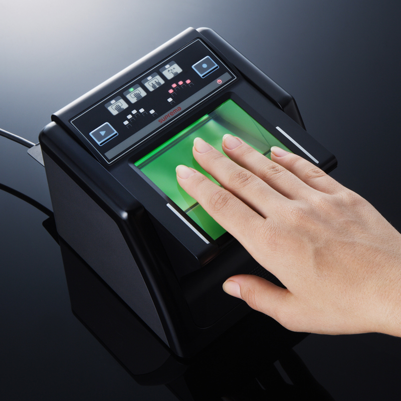 Suprema fingerprint live scanners receive FIPS 201 certification
