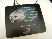 Mousepad RFID scanner