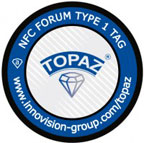 Innovision R&T's Topaz NFC Tag